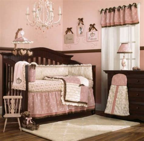 baby girl bed sets new cocalo daniella baby girl s pink and brown crib