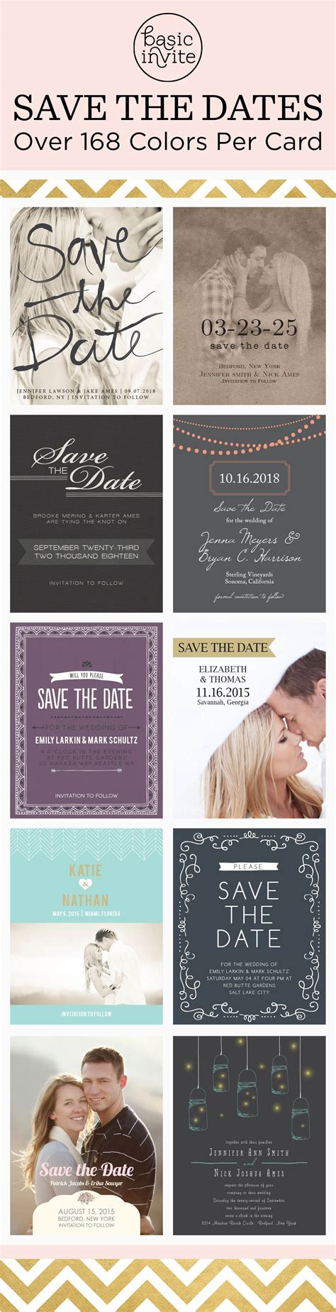 wedding invitations with matching save the date magnets choose from magnets postcards or traditional save the dates match your colors style with