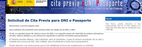ministerio de interior renovar dni ministerio del interior renovacion pasaporte cita previa