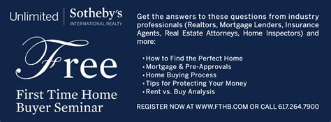 free time home buyer seminar 01 09 16