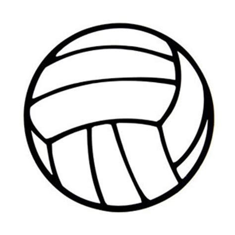 printable picture of a volleyball 8 best images of small printable volleyball printable