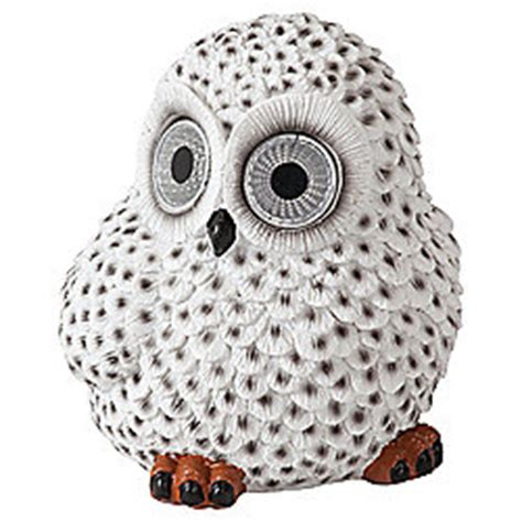Buy Tesco Snowy Owl Solar Light From Our Solar Lights Tesco Solar Lights