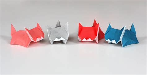 How To Make An Origami Cat - cuteness alert more kitten origami how about orange