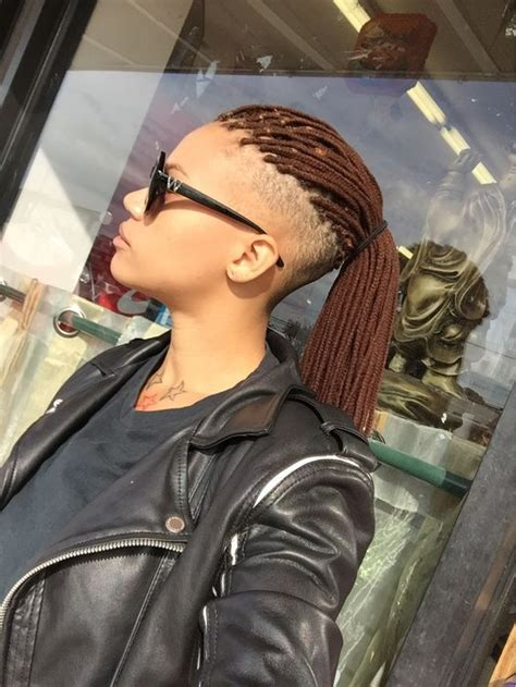yarn braids natural hair styles pinterest yarns undercut natural hair side undercut and yarn braids on
