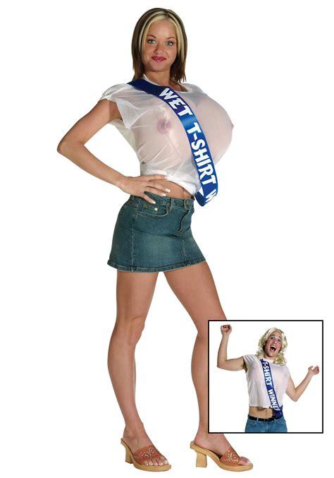halloween costume t shirts wet t shirt contest winner costume womens humor