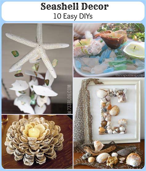 shells decorations home 70 nautical decor diys pet scribbles