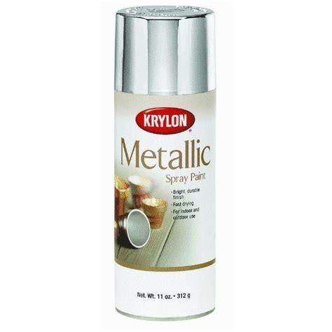 krylon silver metallic spray paint 1406 ebay