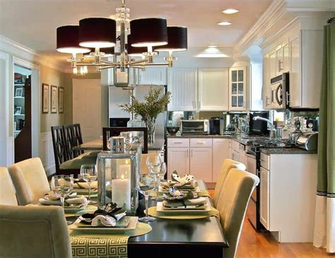 Kitchen And Dining Room Design Big Ideas To Optimize Space Of A Small Kitchen