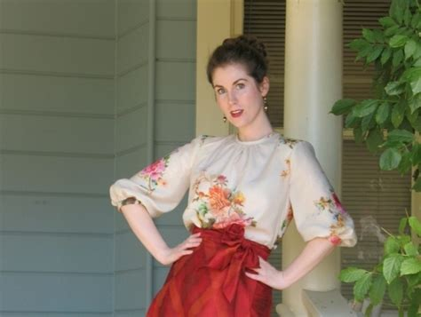 embonpoint vintage pattern review simplicity misses retro tops 1692 pattern review by lauramae