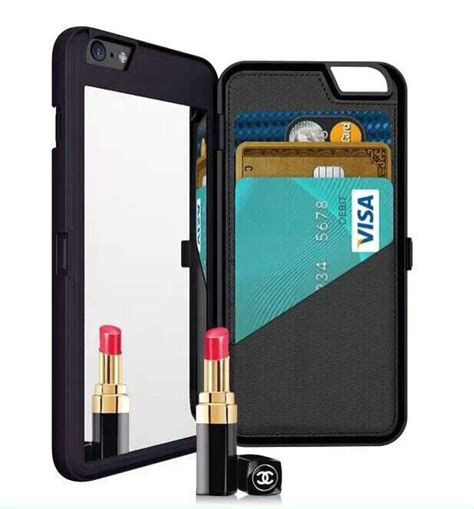 Casing Silicone Mirror Kaca For Iphone 6 Iphone6 Plus 55 new magic mirror silicone flip wallet card holder slot cover for iphone 6 4 7 for iphone6