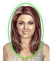 edgy hairstyles for heart shaped faces the shape of your face heart medium hairstyle fat