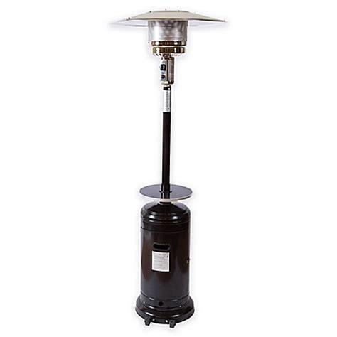 Overhead Patio Heaters Buy Bombay 174 Outdoor Overhead Patio Heater In Black From Bed Bath Beyond