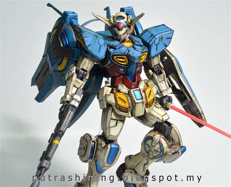 1 144 Hg Gundam G Self hg 1 144 gundam g self custom paint by putra shining