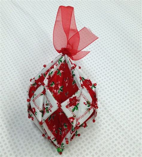 fold n stitch holiday ornament 10 1 pm christmas