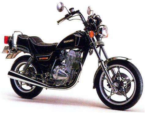 Suzuki Gn 400 Suzuki Gn400 And Gn400e 1980 1984