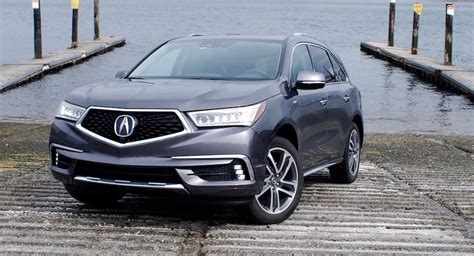 drive acura mdx sport hybrid is a thing made