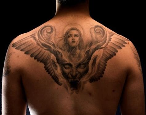 evil angel tattoo designs god search god and