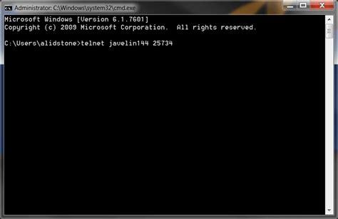 test telnet port how to perform a telnet test