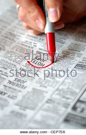 help wanted section help wanted section of newspaper stock photo royalty free