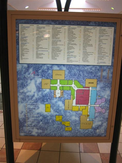 Layout Of Eastview Mall | eastview mall victor rochester new york labelscar