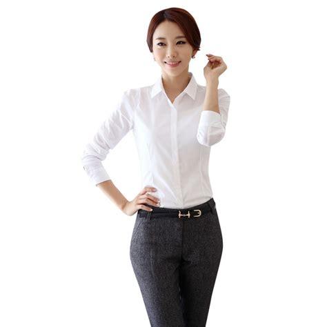 down blouses for 2013 video star travel international down blouses for new korea women lady turn down lapel collar cool short