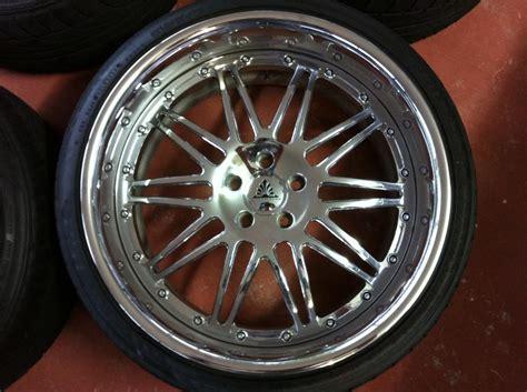 fl auto couture 20 quot 3pc rims w tires not lexus bolt