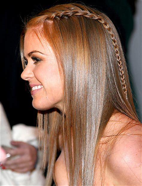 peinados de fiesta para pelo no tan largo maryam maquillage french braided for bastille day