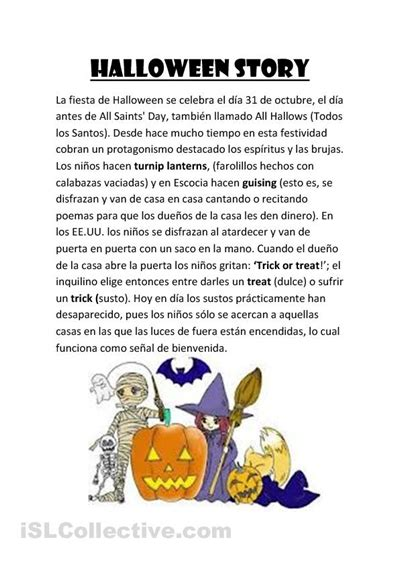 printable children s ghost stories 5 best images of printable halloween stories for kids
