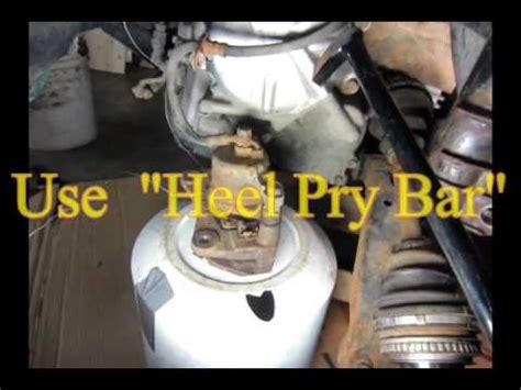 how to remove drive shaft toyota rav4 1996,1997,1998,1999