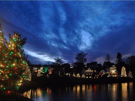 mcadenville christmas lights 2017 5 most amazing christmas towns in north carolina