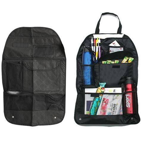 six pocket back seat organizer with umbrella holder black jakartanotebook