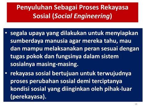 Rekayasa Sosial 1 ppt komunikasi penyuluhan pertanian 3 1 powerpoint
