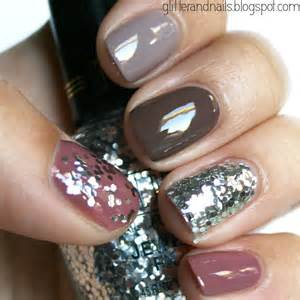 fall color nail designs pretty fall nails my style