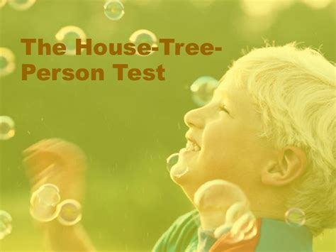 house tree person house tree person test