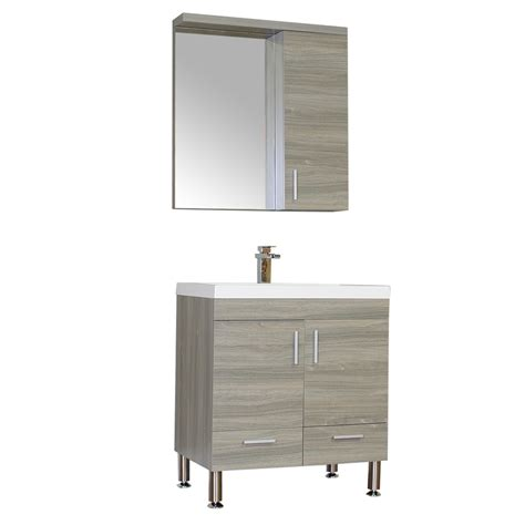 alyaat8085g 30quot single modern bathroom vanity gray