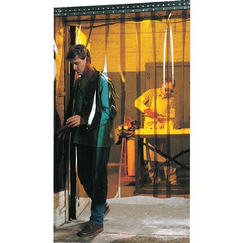 steiner welding curtains steiner welding strip door amber pvc 8ft x 10ft