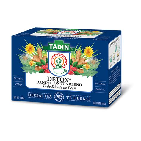 How To Detox With Dandelion Tea by Detox With Dandelion Root Tadin Herb Tea Co