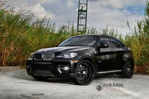 bmw x6 comes with matte black wheels from strasse