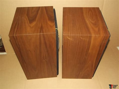 Vintage American Acoustics D3550e Box Pair Of American Acoustics Labs Aal Classic Series 108 Speakers With Original Box Photo 1070178