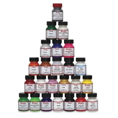 angelus paint kit walmart 086366710012 upc angelus acrylic leather paint 1 ounce
