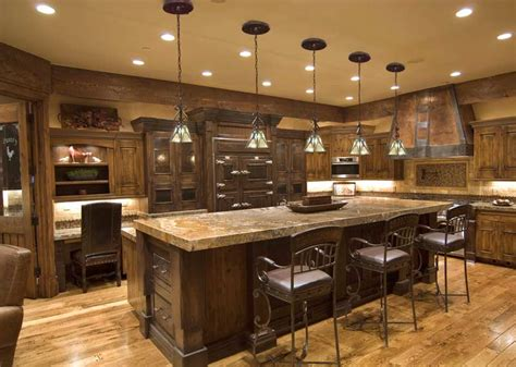 Rustic Kitchen Lighting Ideas with Kitchen Lighting System Classic Elegance