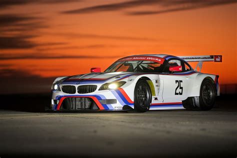 livery bmw bmw z4 gtlm race car gets iconic livery for 12 hours of