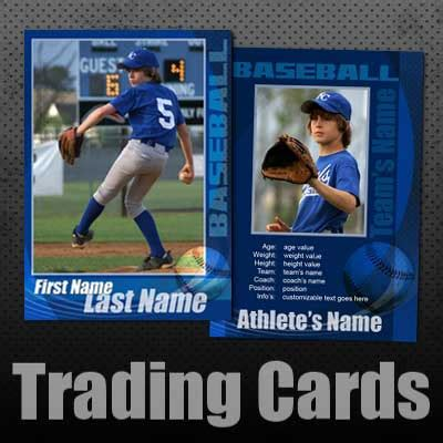 baseball trading card template free baseball trading cards custom editable templates for