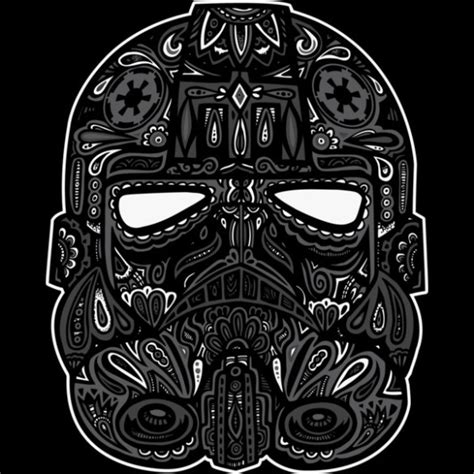 tie fighter calavera fancy tshirts com