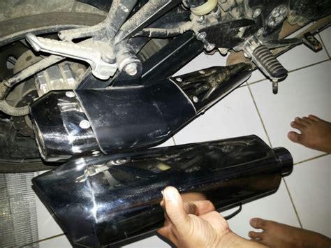 Knalpot Kawasaki Blitz Aslioriginal knalpot bersekat lebih panas dibanding knalpot freeflow smartf41z