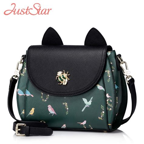 Backpack Fashion Bee just pu leather messenger bags fashion