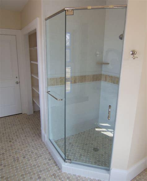 Angled Shower Doors Neo Angle Shower Door King Shower Door Installations