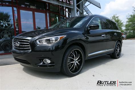 infiniti qx60 rims infiniti qx60 with 22in lexani polaris wheels exclusively