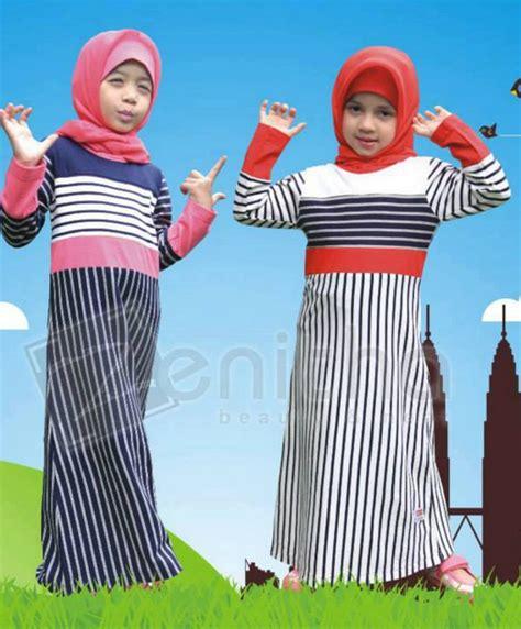 Aneka Baju Anak Perempuan 20 contoh model baju muslim anak perempuan terbaru