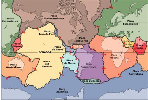 foto de las placas tectonicas file placas tectonicas es svg